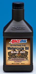 Amsoil Synthetic SAE 60 Motorcycle Oil (MCS)