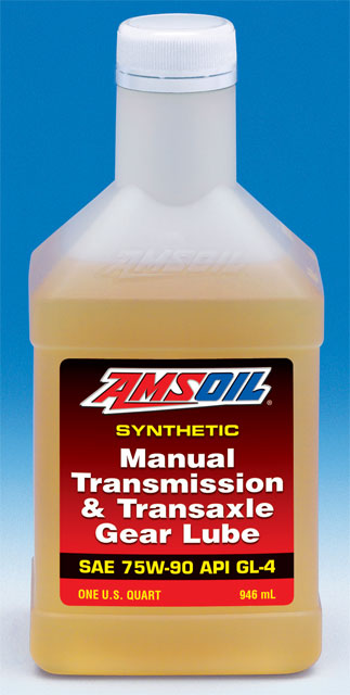 Amsoil 75W-90 Synthetic Manual Transmission and Transaxle Gear Lube (MTG)